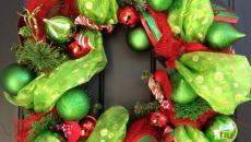 idées déco Noël pour la porte d'entrée