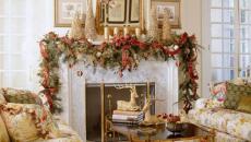 belle décoration de Noël guirlandes