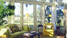 décoration d'intérieur véranda salon de jardin meubles