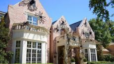 décorer façade maison pour halloween