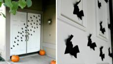 Décoration chauves-souris Halloween macabre