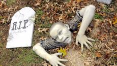 Zombie décoration jardin Halloween