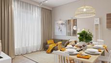accessoires déco en jaune séjour moderne