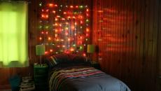 tête de lit décoration de Noël unique