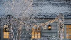 ambiance festive décoration outdoor extérieur maison Noël