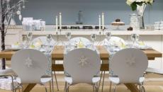 idées décoration table de noel