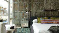 décoration sur les murs trompe l'œil chambre