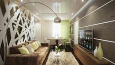 petit séjour appartement décoré couleurs