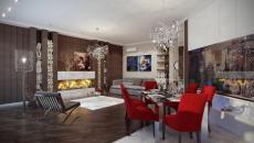 intérieur élégant chic décoration maison de style