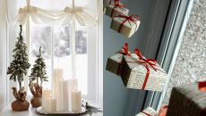 inspirations de déco fenêtre pour Noël