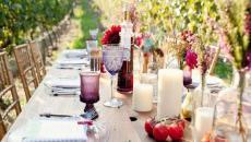 dresser une belle table repas de famille