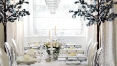 décoration style et classe décorer sa table de noel