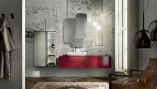 salle de bains ameublement béton design
