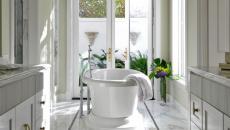 sol en marbre salle de bain