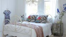 shabby décor ambiance romantique chambre