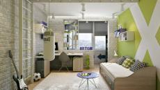 petite chambre d'enfant dans appartement