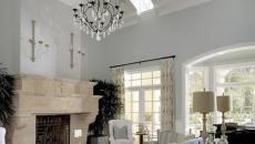 maison de luxe avec séjour cheminée de charme