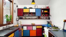 placards multicolores cuisine vintage rétro