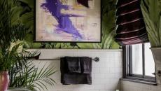 design chargé déco kitsch salle de bain