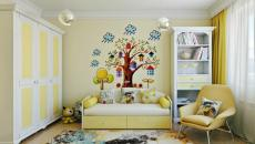 petite chambre d'enfant appartement