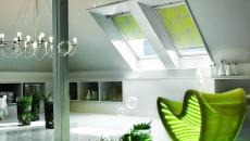 loft design fenêtres de toit inclinées velux