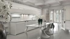 cuisine avec style glamour et minimaliste