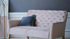 canapé capitonné design luxe