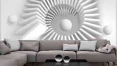 papier peint abstrait 3D