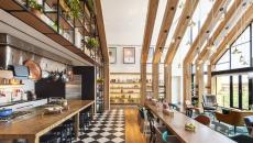 salle du café immeuble résidentiel urby staten island