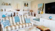 accessoires et objets séjour maison de plage