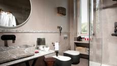 salle de bain de luxe palace Rome