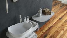 salle de bains intérieur inspiration industrille