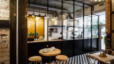 design retro folklorique industriel restaurant