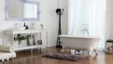 retro salle de bains aménagement design