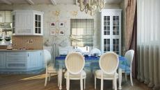esprit romantique décor rustique cuisine et salle à manger design