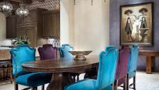 salle à manger rustique design luxe