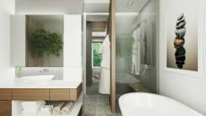 sérenité et calme zen salle de bains