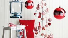 blanc et rouge décoration de Noël