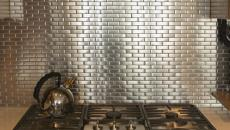 dosseret de cuisine en métal