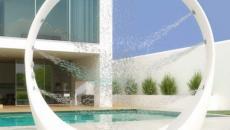 douche design moderne plein air outdoor piscine