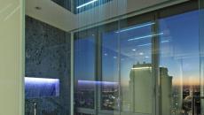 douche design vue panorama salle de bain moderne