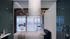 douche verticale classe moderne contemporaine originale