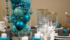 dresser sa table festive jour de l'an