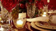 ambiance fête table de repas
