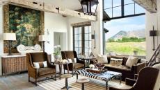 belle demeure à la décoration rustique design moderne