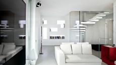 escalier design blanc intérieur déco luxe