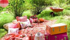 espace outdoor aménagé en pique-nique déco