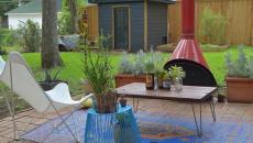 tapis pour espaces extérieurs maison