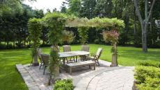 kiosque pergola design outdoor jardin