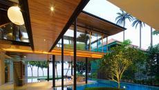 maison d'architecte ouverte sur l'océan